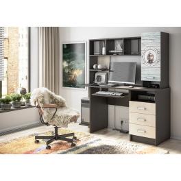 Компьютерный стол «КС-002» с фотопечатью