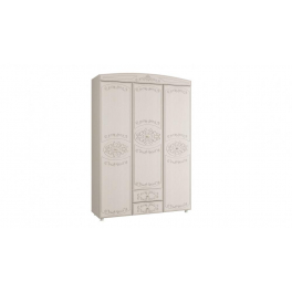 """Шкаф 3-х дверный комбинированный """"Каролина"""""""