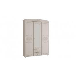 """Шкаф """"Каролина"""" 3-х дверный комбинированный с зеркалом"""
