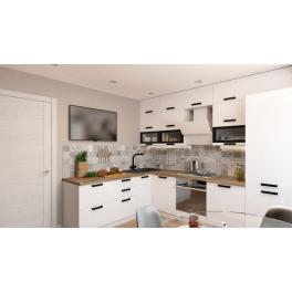 """Кухня """"АЛЯСКА"""" Белый лёд 2м40см Х 3м"""